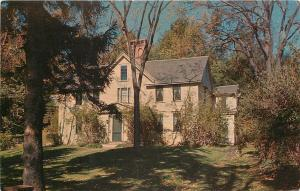 Concord Massachusetts~Orchard House~Was The Home Of Louisa May Alcott~1960s