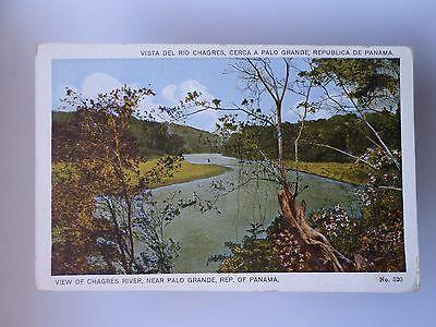 PANAMÁ VIEW OF CHAGRES RIVER NEAR PALO GRANDE 1910 YEARS ...