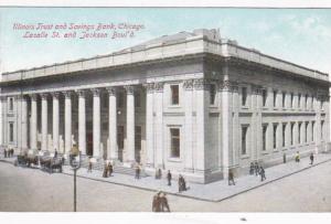 Illinois Chicago Illinois Trust and Savings Bank Lasalle Street & Jackson Bou...