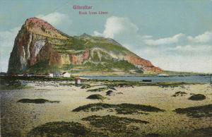 Rock From Linea, GIBRALTAR, 1900-1910s