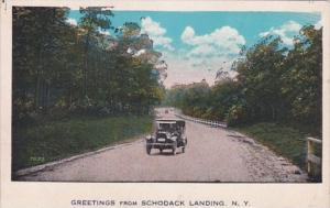 New York Greetings From Schodack Landing