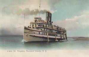 Steamer KINGSTON Thousands , New York , 1901-07 , 00-10s