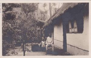 RP: Native family at home , LA GUAYRA , Venezuela , PU-1929