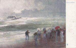 Sur Le Recif , 1900-10s ; TUCK 356