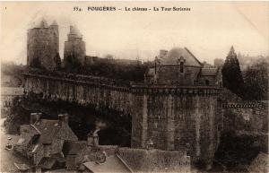 CPA FOUGERES - Le chateau - La Tour-Surienne (298221)