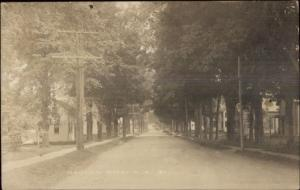 Hill NH Main St. c1910 Real Photo Postcard