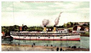 Indiana Michigan City , Steamer Theodore Roosevelt