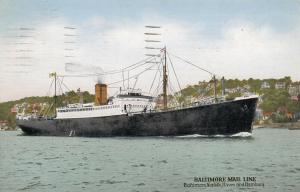 BALTIMORE , Maryland , 1933 ; Baltimore Mail Line Ship