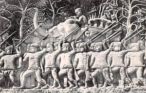 Siemreap Cambodia, Cambodge Scene de la bataille a Bayon Siemreap Scene de la...