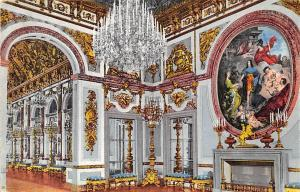 Schloss Herrenchiemsee Saal des Friedens Castle Interior view Chateau