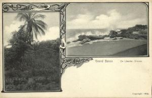 liberia, GRAND BASSA, On Liberian Shores (1905)