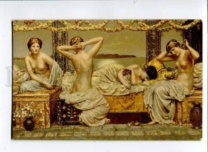 257393 Summer night NUDE HAREM Female by MOORE Vintage PC