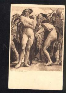 040439 NUDE Men. By Felix JENEWEIN vintage ART NOUVEAU PC
