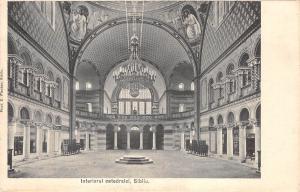 b0114 interiorul catedralei cathedral  Sibiu Hermannstadt Nagyszeben romania