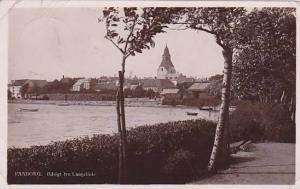 RP: FAABORG. Udsight fra Langelinie , Denmark , PU-1910