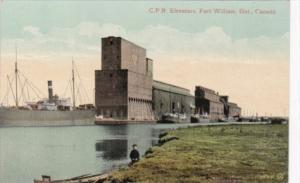 Canada Ontario Fort William Canadian pacific Railways Elevators