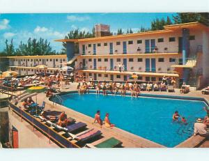 Unused Pre-1980 HOLIDAY BEACH MOTEL Hollywood Florida FL s4723@