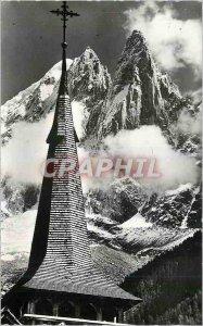 Modern Postcard Beau Pays du Mont Blanc Tete in Heaven