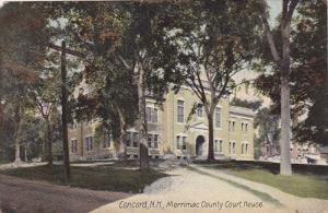 CONCORD, New Hampshire; Merrimac County Court House, PU-1908