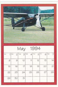 May 1994 Limited Editon Calendar Cardm AirShow '94 1933 Fairchild 24 C8A