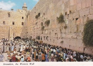 JERUSALEM, Israel, 1950-1960s; The Western Wall