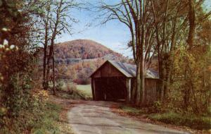 VT - White River. Covered Bridge between South Royalton and Chelsea