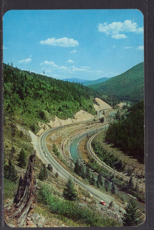 Highway 10,Lookout Pass,MT BIN