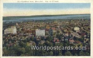 Montreal Canada, du Canada Looking west, Vue de I'ouest  Looking west, Vue de...