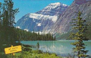 Canada Alberta Mount Edith Cavell Jasper National Park