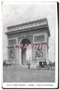 Old Postcard Collection petit Journal Paris Arc de Triomphe