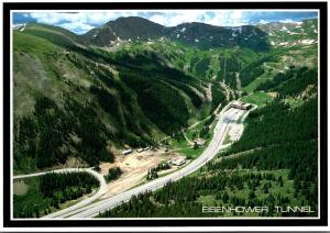 Colorado Rocky Mountains The Eisenhower Memorial Tunnel