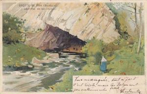 AS, Gouffre De Belvaux, Grotte De Han, Belgium, PU-1900