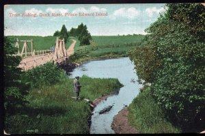 Prince Edward Island Trout Fishing DUNK RIVER with Wooden Bridge - Und/B