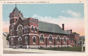 Pennsylvania Waynesboro St Andrew's Roman Catholic Church