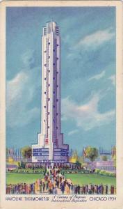 Havoline Thermometer,  Chicago, Illinois,  30-40s