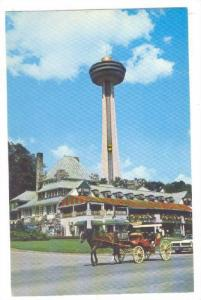 The refectory restaurant taken from Queen Victoria Park, Niagara Falls, Canad...