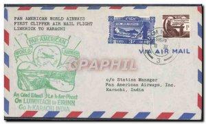 Ireland Limerick Letter Karachi August 3, 1947