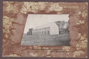 Belgrade Rug Factory, Josselynville, West Townsend Massachusetts 1907 Postcard