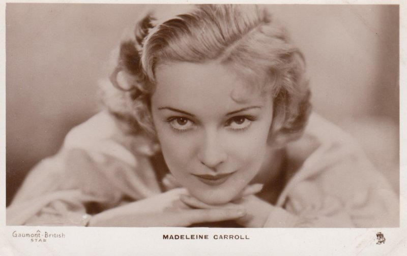 RP: Madeleine Carroll , 1910-30s ; TUCK