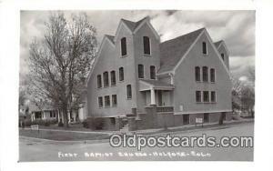 Churches Vintage Postcard Holyoke, CO, USA Vintage Postcard First Baptist Church