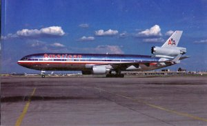 AMERICAN AIRLINES...view of a McDonnell Douglas MD-11, 1980s