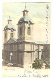Landskrona , Kyrkan , Sweden , PU-1910