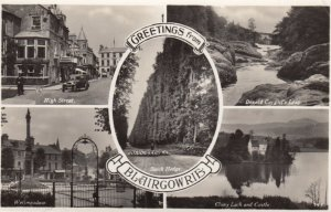 RP: BLAIRGOWRIE , Perthshire , UK , 1930s ; 5 view postcard
