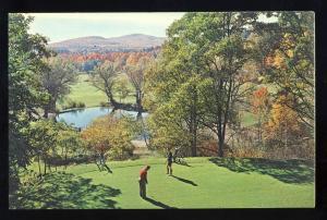 Lake George, Postcard, Yonder Hill Golf Course, Golfing