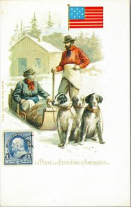 POSTCARD - ETATS-UNIS D'AMERIQUE . The Post Office . United States of America.