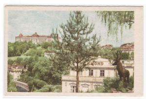 Hotel Imperial Karlovy Vary Czech Republic postcard