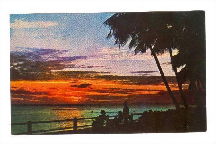 Sunset in Fiji, PU-1965