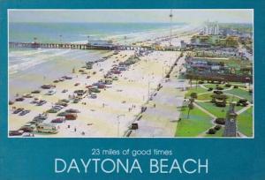 Florida Daytona Beach 23 Miles Of Good Times
