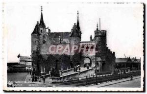 Old Postcard Antwerpen Het Steen Antwerp Steen