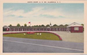 ALLENDALE , South Carolina , 30-40s; Siesta Court, U. S. 301